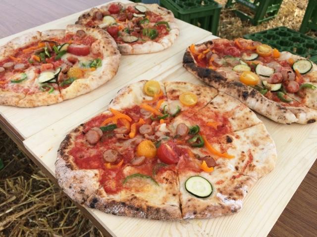 山口さんのピザ